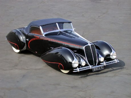 1938 Delahaye figoni and falaschi