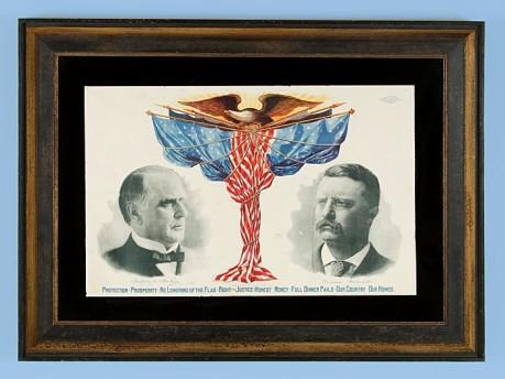 Roosevelt & Mckinley poster (1900)