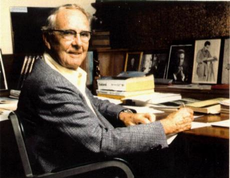 Physicist Louis Alvarez - 1968 Nobel Prize winner & inventor of the Asteroid Impact Theory and the Jet Recoil Theory