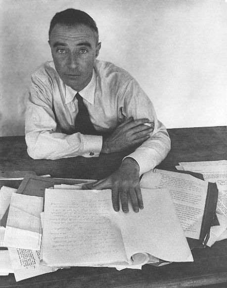 Robert Oppenheimer - Physicist who headed the Manhattan Project; Check out his links and french cuffs, they're probably smudged with ink from writing all of those equations making them even cooler!