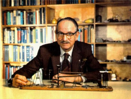 Physicist Edwin Mcmillan - First to produce a transuranium element and winner of the 1951 Nobel Prize in chemistry