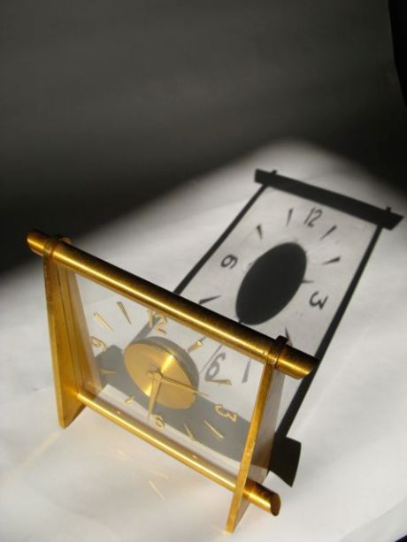 Desk Clock by Le Coultre
