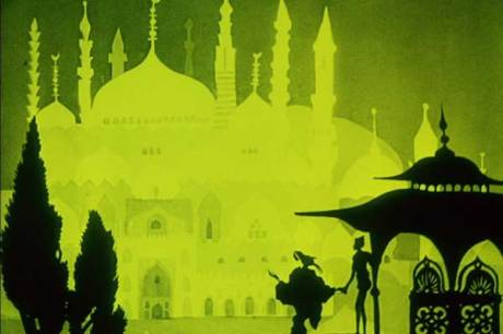 "From ""The Adventures of Prince Achmed"""