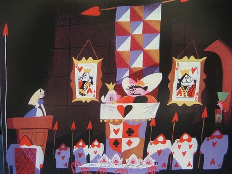 "Blair's concept art for ""Alice in Wonderland"""