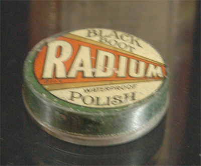 "This one's made with ""RADIUM""...doesn's sound too safe!"