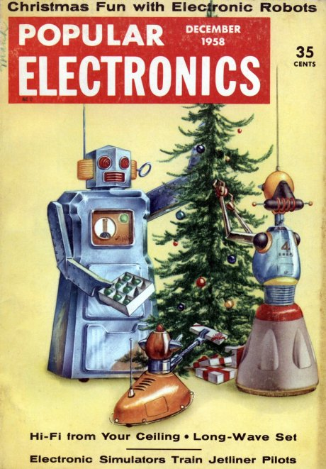 """Popular Electronics"" from December 1958"