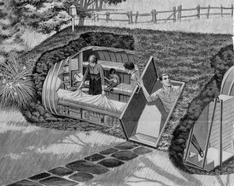 Bomb Shelter circa 1963