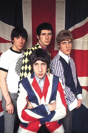 The Who - I love the Union Jack flag blazer on Pete