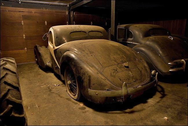 Rare 1937 Bugatti Atlante Found In British Garage The