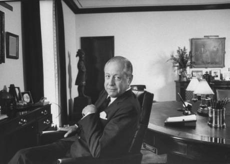 Chairman of CBS William Paley - 1966