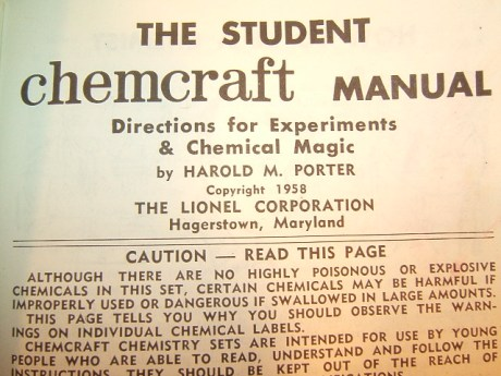 Warning label from Chemcraft