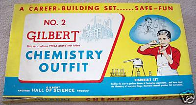 Gilbert Chemistry Outfit