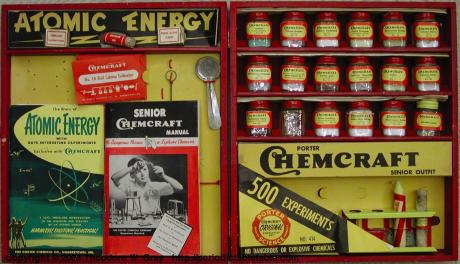 Atomic Energy from Chemcraft