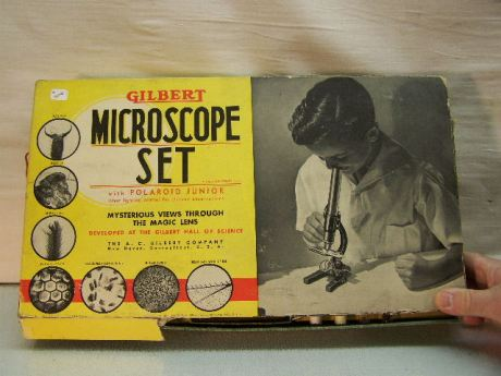 This Gilbert set has a microscope