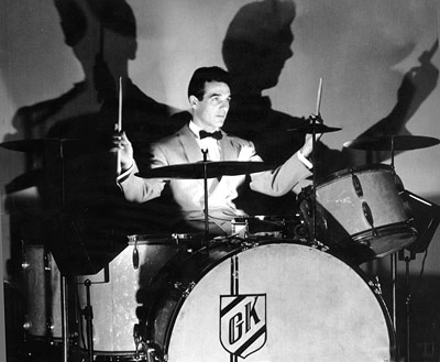 Mr. Gene Krupa of the Benny Goodman Orchestra