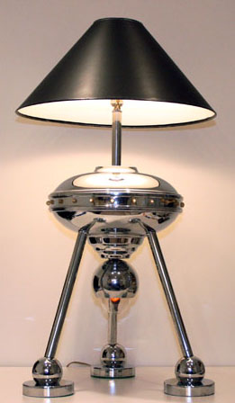 Flying Saucer Table Lamp by Torino - 1970's