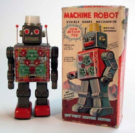 "Machine Robot aka ""Turn Signal Robot"" - Horikawa 1963"