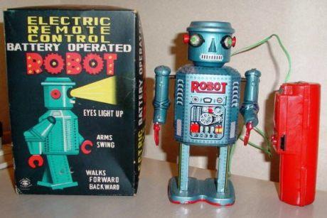 Electronic Remote Control Robot - Matsudaya 1960's