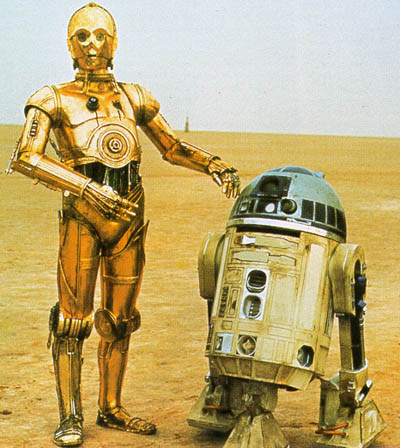 C3PO & R2D2 from Star Wars