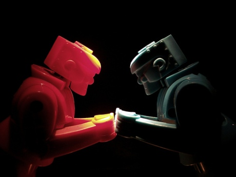 Rock Em' Sock Em' Robots