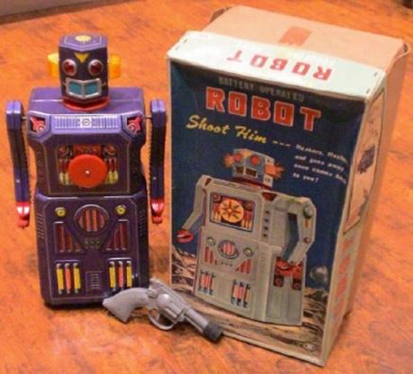 Target Robot - Masudaya 1965