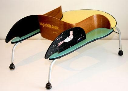 Infant Walker - Baby's Flying Saucer - 1950's