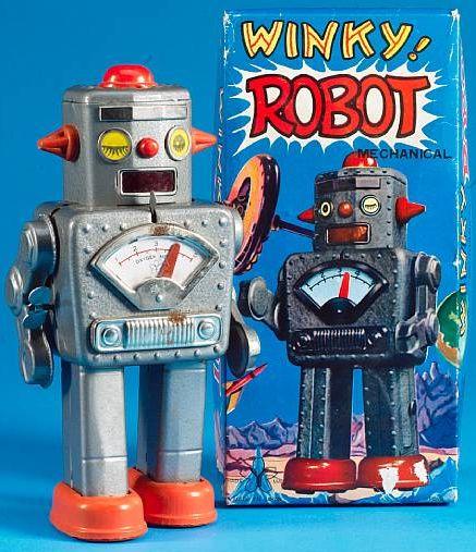 Winky Robot - Yonezawa 1960's