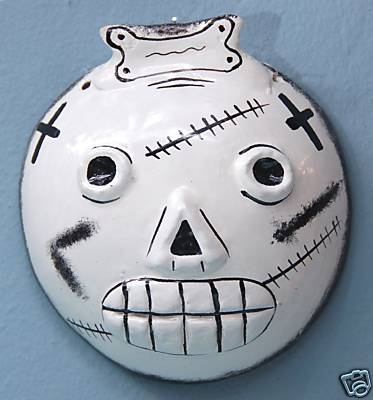 Mask for Dia De Los Muertos