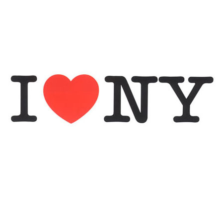 """I Love New York"" logo"