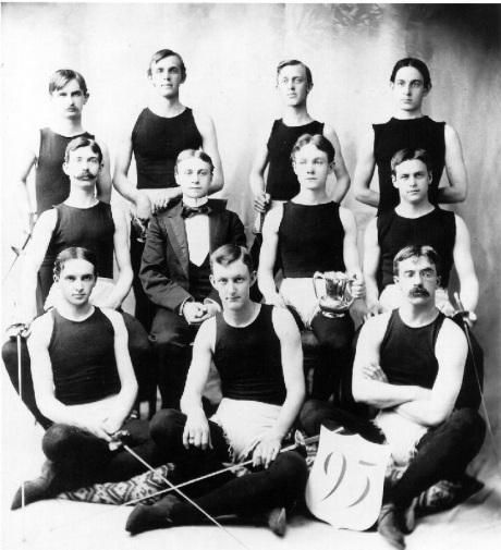 Fencing Team - 1895
