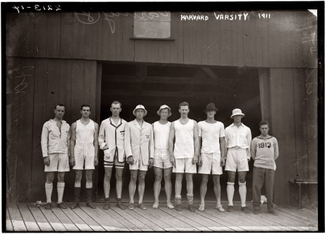 Harvard University varisty crew team - 1911