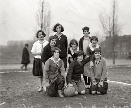 Rosedale Girls Basketball Team - 1924