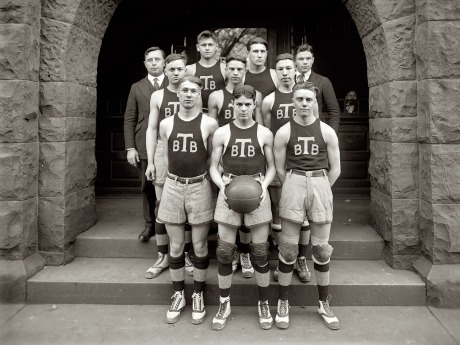 Tech High Basketball - 1920