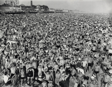 Crowd at Coney Island - 1940