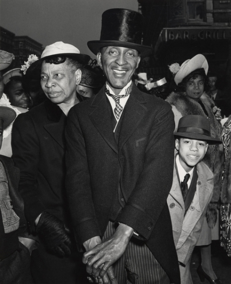 Easter Sunday in Harlem - 1940