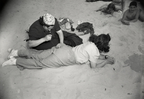 Mending - Coney Island - 1940