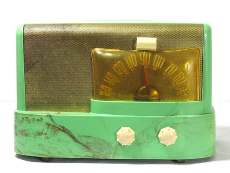 Emerson designed by Mr. Raymond Loewy