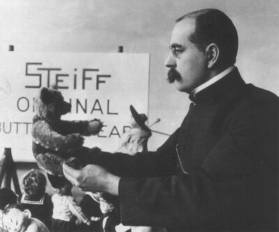 Mr. Richard Steiff - Creator of the first stuffed toy bear (Image:www.chelseateddybearco.com)