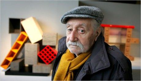 Mr. Ettore Sottsass (Image: New York Times)