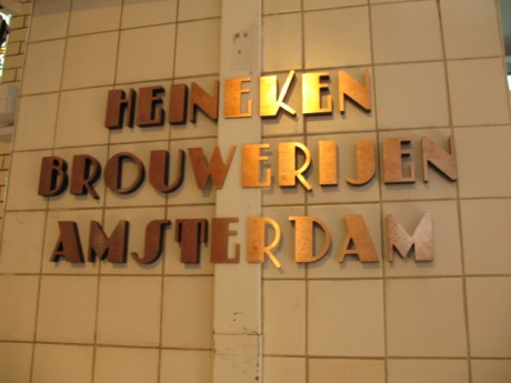 Amazing fonts inside the brewery