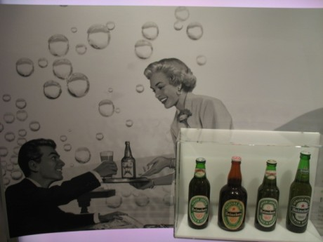 Vintage Heineken bottles!