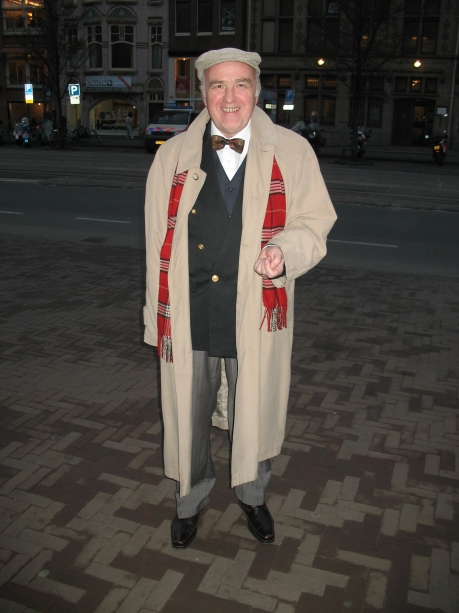 Active Agent #367 - Agent from Czech Republic in Amsterdam for unknown reasons.  Noted for his use of bright tartans, boating blazers, and bowties.