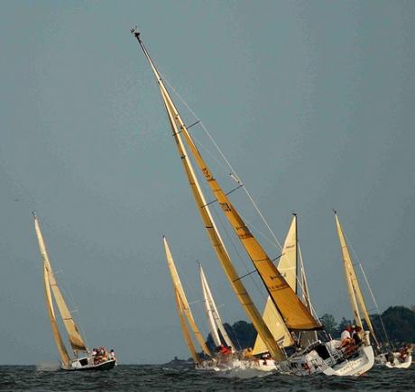Sail boat races