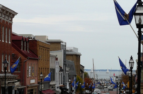Main Street decked out for Navy week
