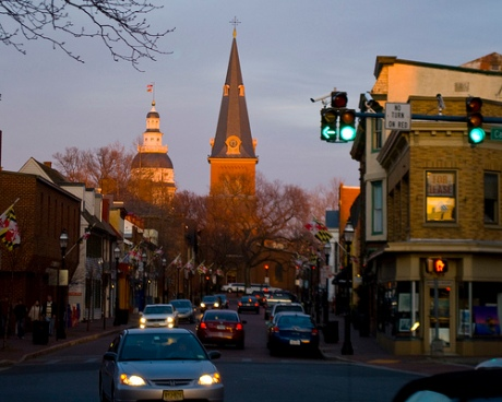 Great shot of Annapolis capital