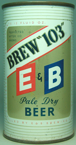 E & B - Fido's beer of choice