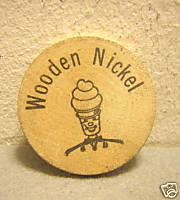 Mister Softee Wooden Nickel