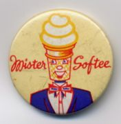 Old Mister Softee pin