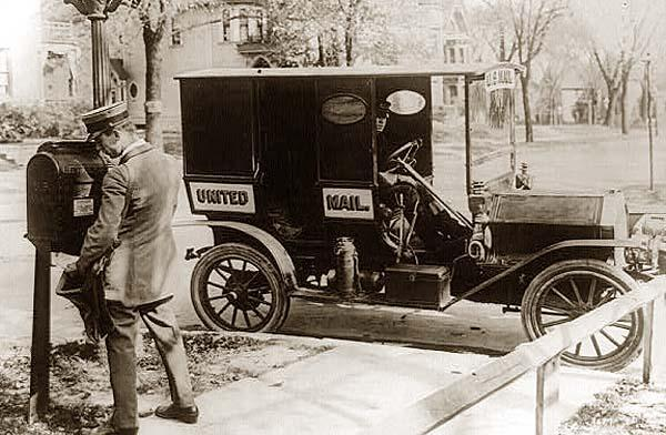 Car Manufacturers Early 1900s Mail