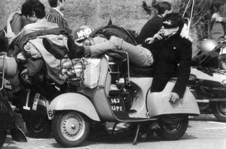 MOD on Vespa - Late 1960's